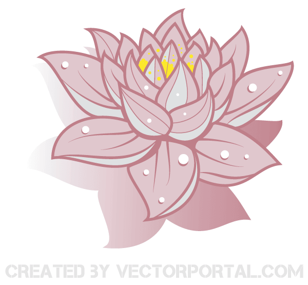 Lotus flower vector art free 123freevectors lotus flower vector art free mightylinksfo