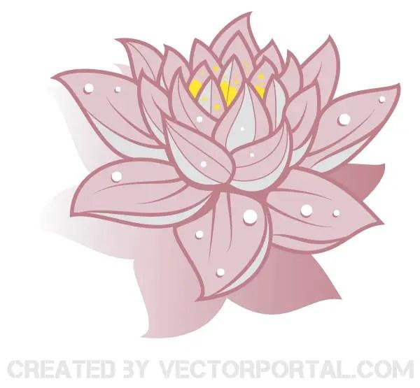Lotus flower vector art free 123freevectors lotus flower vector art free mightylinksfo