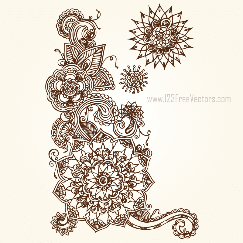 floral vector eps free download 123freevectors