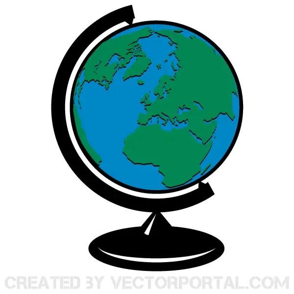 earth globe vector clip art 123freevectors rh 123freevectors com globe clip art free globe clip art free download