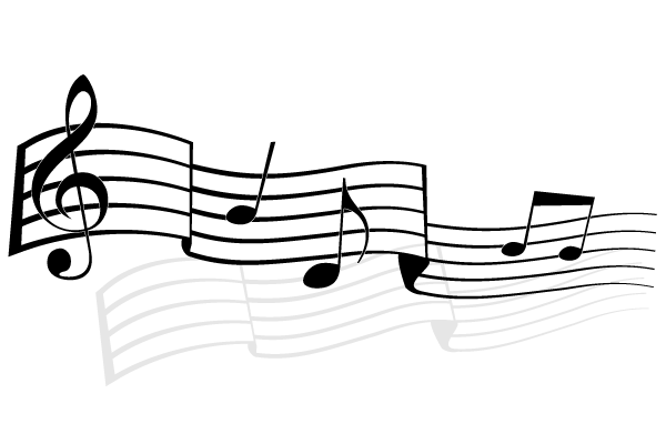 music notes vector image free 123freevectors rh 123freevectors com music notes vector free download music notes vector art