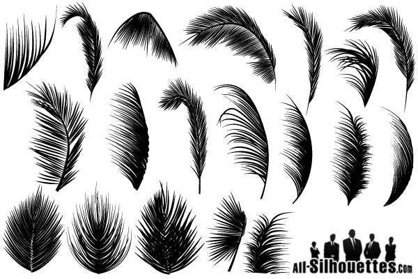 palm leaves vector free 123freevectors rh 123freevectors com palm leaf vector image palm leaf vector free