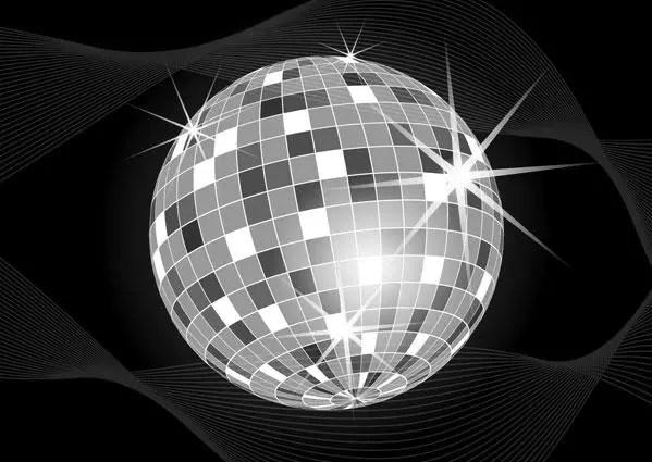 Disco Ball Vector Art 123freevectors