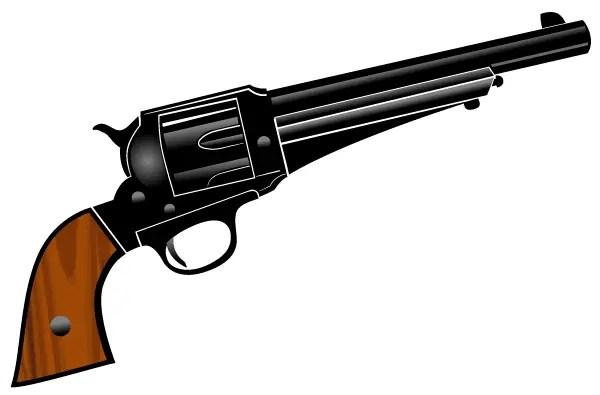 pistol vector clipart 123freevectors rh 123freevectors com pistol clipart png a water pistol clipart