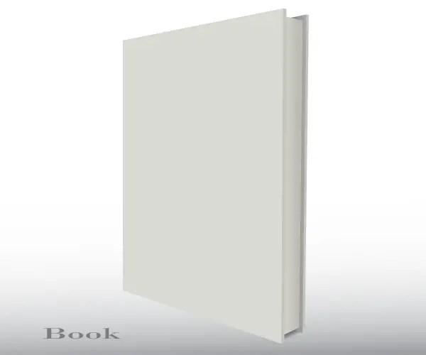 Blank empty 3d book cover free vector template 123freevectors blank empty 3d book cover free vector template maxwellsz