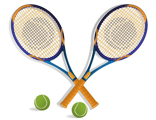 tennis racket vector 123freevectors rh 123freevectors com Tennis Player Clip Art Funny Tennis Clip Art