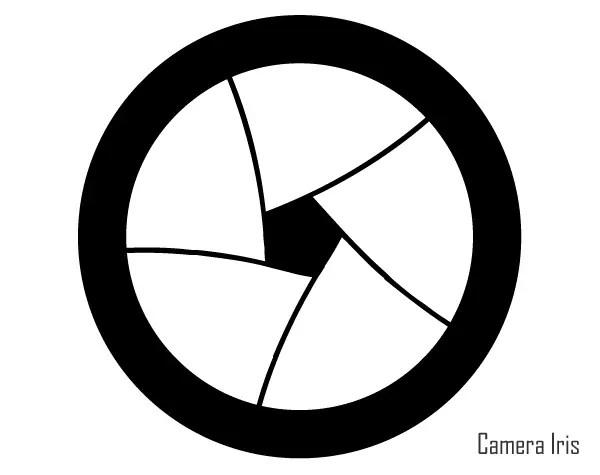 Free Camera Iris Vector Art 123Freevectors