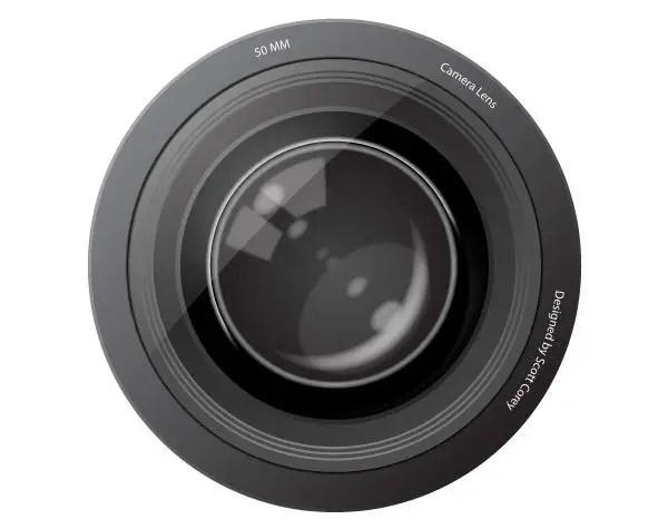 Grunge Camera Vector : Free camera lens vector image freevectors