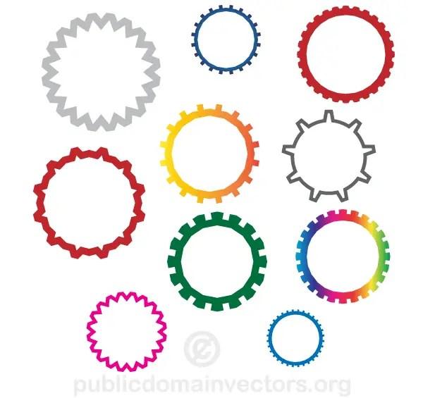 Gear Wheels Vector Free Download 123freevectors