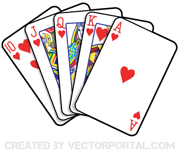 playing cards vector art 123freevectors rh 123freevectors com playing card symbols clip art playing cards pictures clip art