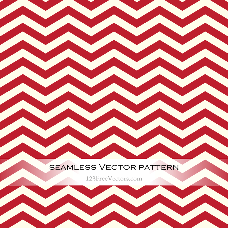 Red Chevron Background