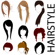 free vector hairstyles 123freevectors