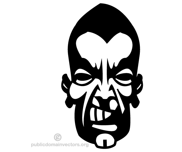 angry man face vector image 123freevectors rh 123freevectors com