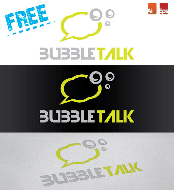 Free Bubble Talk logo