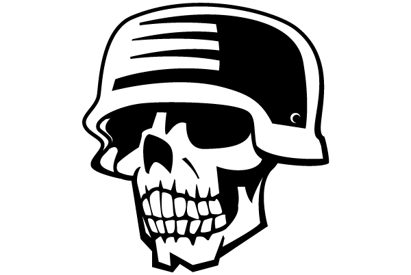 soldier skull free vector clipart 123freevectors