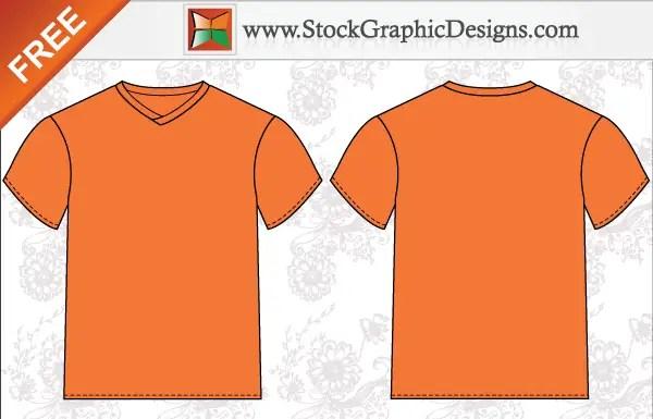 men t shirt template free vector illustrator 123freevectors. Black Bedroom Furniture Sets. Home Design Ideas