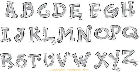 Alphabet Vectors Free Download