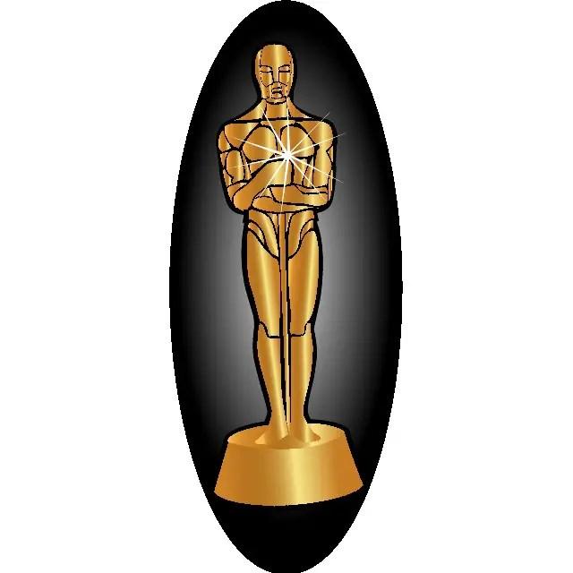 White Oscar Clip Oscar Black And And Grouch White Black Art Clip Art Grouch