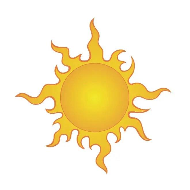 sun clip art 4 free vector 123freevectors rh 123freevectors com vector sun rays vector sunshine