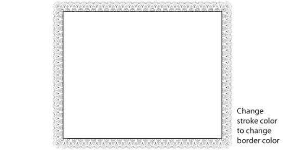Certificate border design 123freevectors certificate border design yelopaper Choice Image
