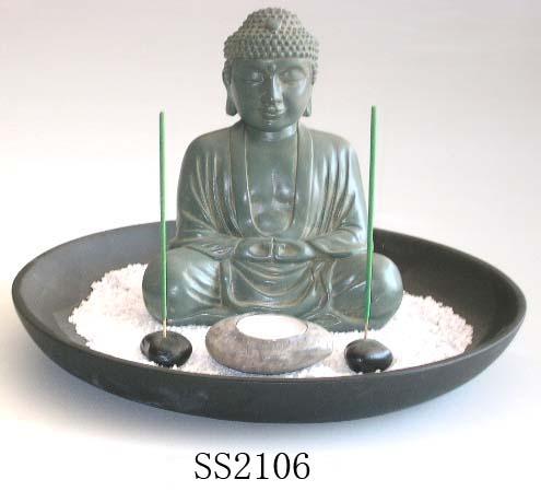 Buddha Votive / Incense Holder, Buddha Votive / Incense
