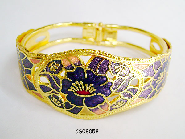 Cloisonne Jewelry  Fashion Bangle Cloisonne Jewelry
