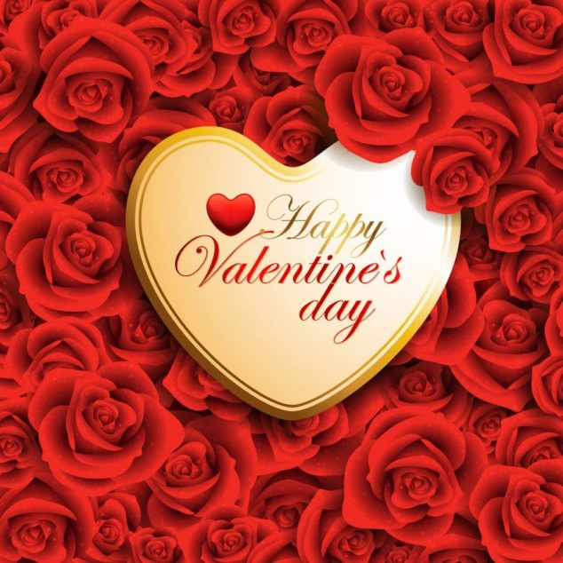 Valentines Day Whatsapp DP 1024x1024 - Happy Valentines day Gifs 2018 , Images, HD Wallpapers, Cover Photos