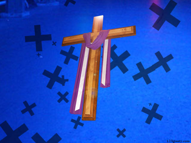 Abstract Jesus Cross  123greetycom