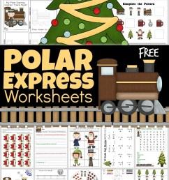 🚂 FREE Polar Express Worksheets [ 1756 x 1024 Pixel ]