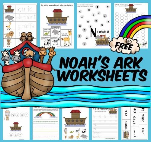 small resolution of FREE Noah's Ark Worksheet Pack for Kids