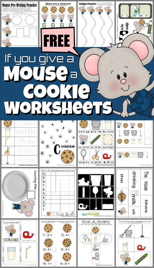 small resolution of If you Give a Mouse a Cookie Worksheets