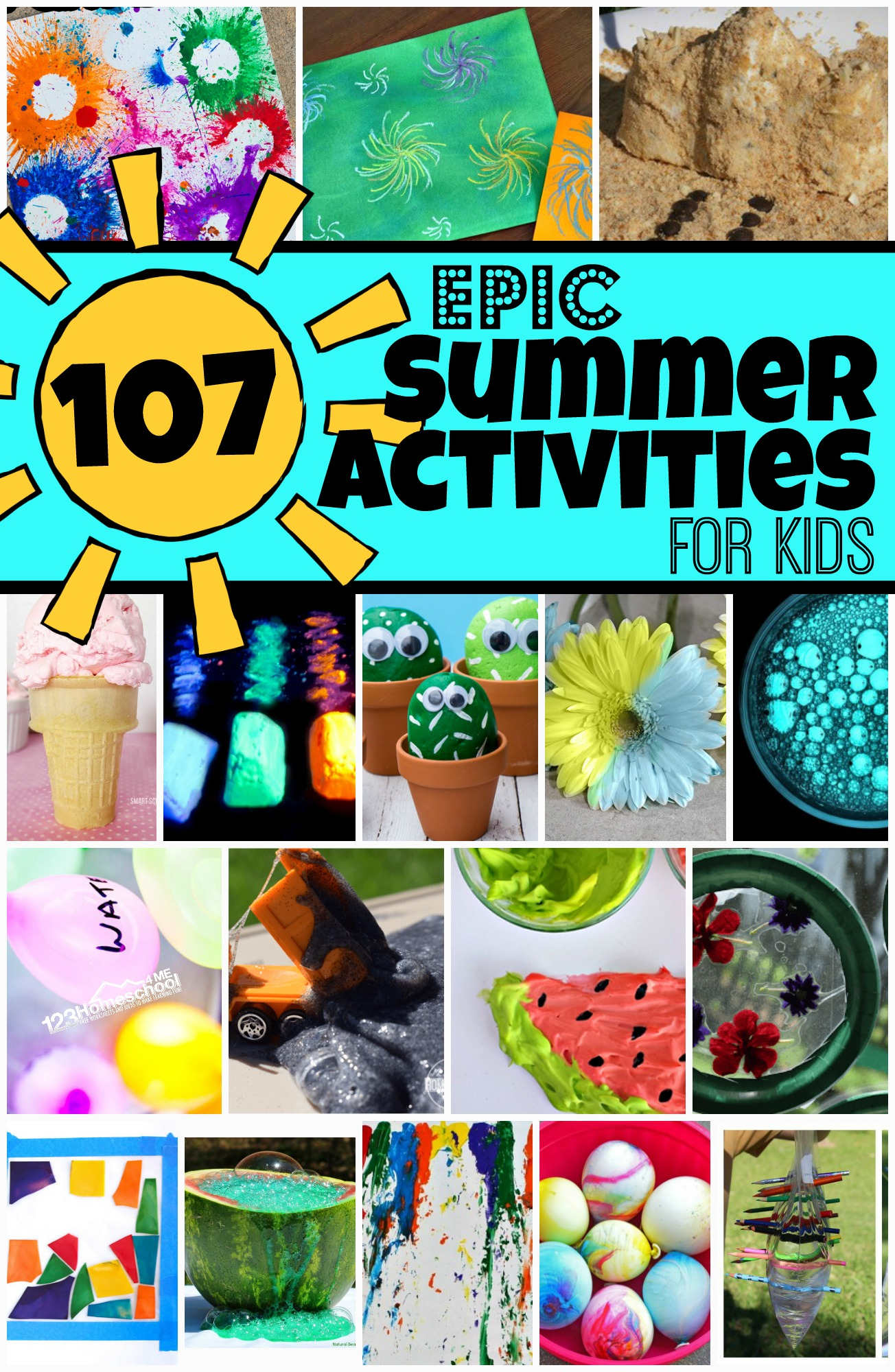 hight resolution of 107 EPIC Summer Activities for Kids to add to your Vacation Activities List