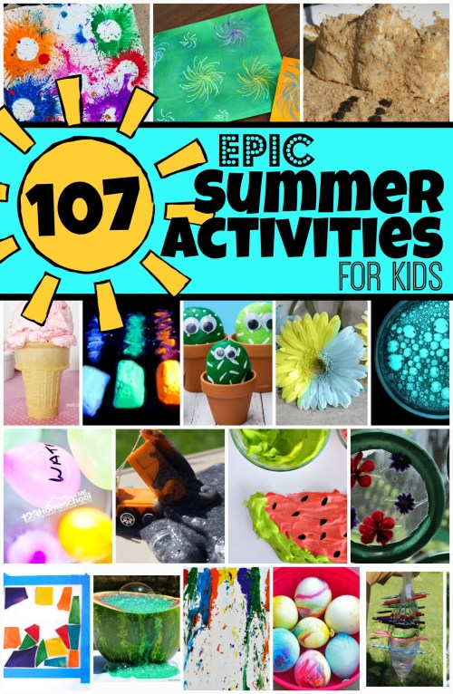 small resolution of 107 EPIC Summer Activities for Kids to add to your Vacation Activities List