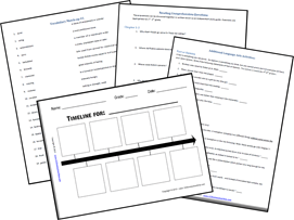 Literature Based Study Guide and Lapbook: The Door in the