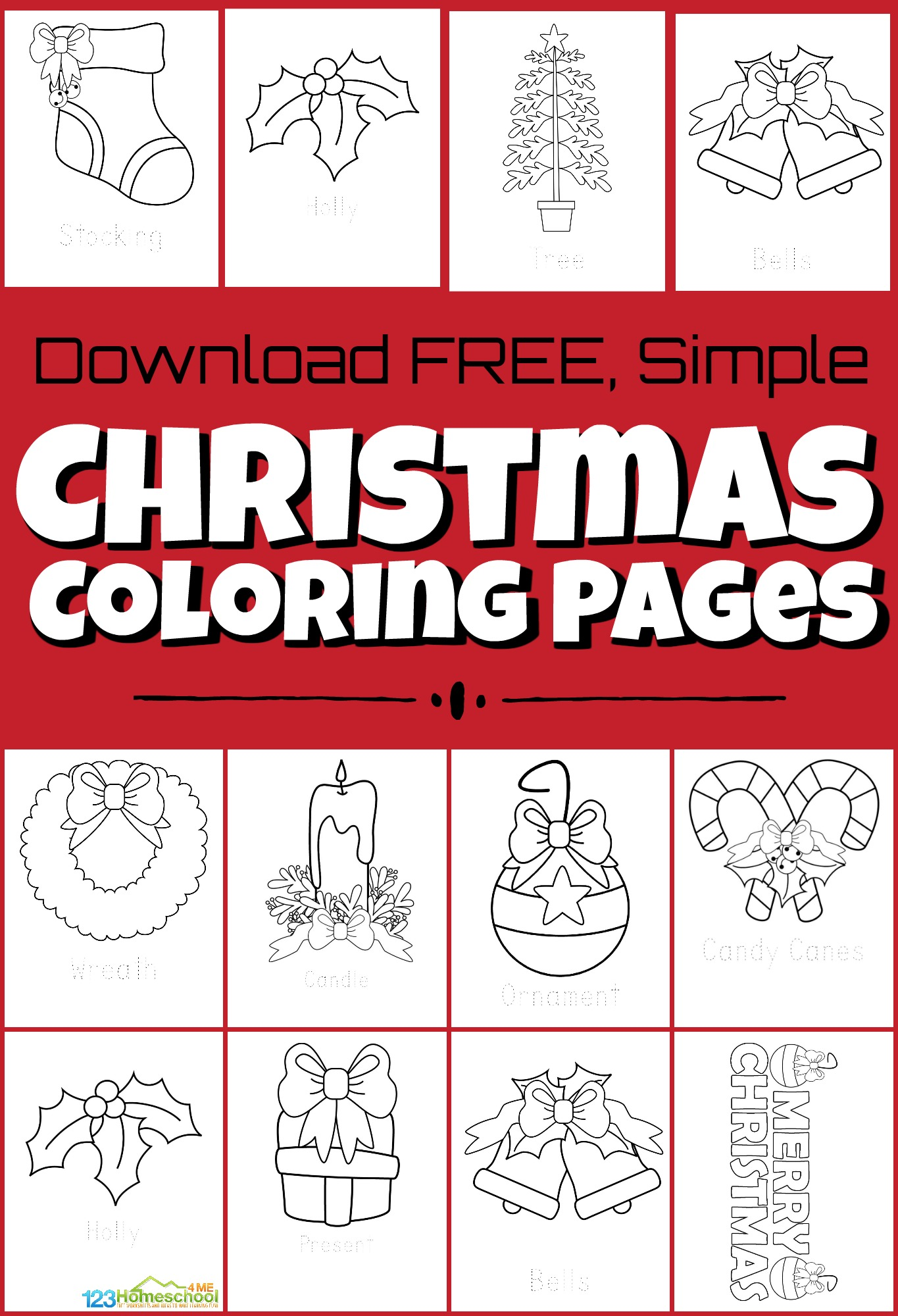 Free Santa S Helpers Christmas Coloring Pages