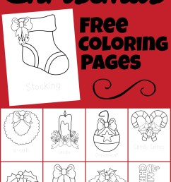 🎄 FREE Christmas Coloring Pages [ 1500 x 1024 Pixel ]