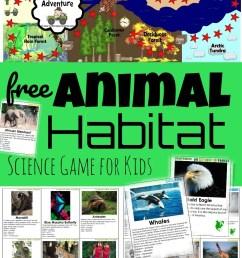 FREE Habitat Game – Exploring Biomes [ 1187 x 903 Pixel ]