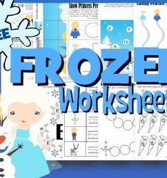 FREE Frozen Worksheets for Kids [ 919 x 1240 Pixel ]
