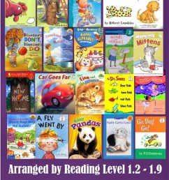 100 Fun-to-Read 1st Grade Reading Books (by reading level) [ 1600 x 601 Pixel ]