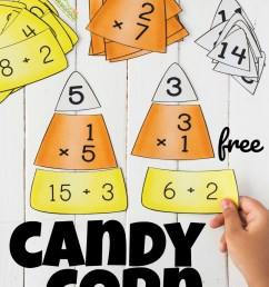 FREE Candy Corn Math - Multiplication and Division Puzzles [ 1565 x 964 Pixel ]