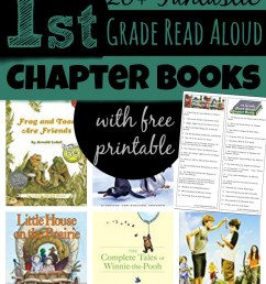 First Grade Read Aloud Chapter Books [ 2000 x 919 Pixel ]