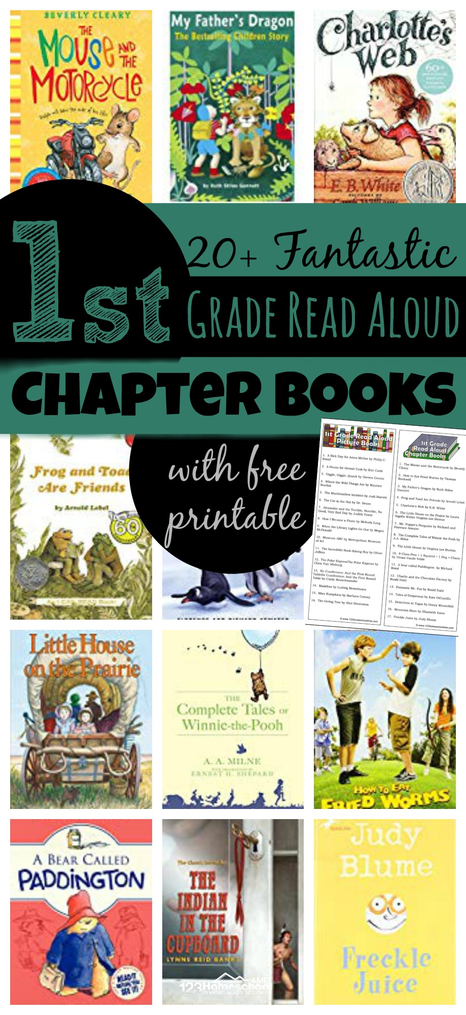 hight resolution of First Grade Read Aloud Chapter Books