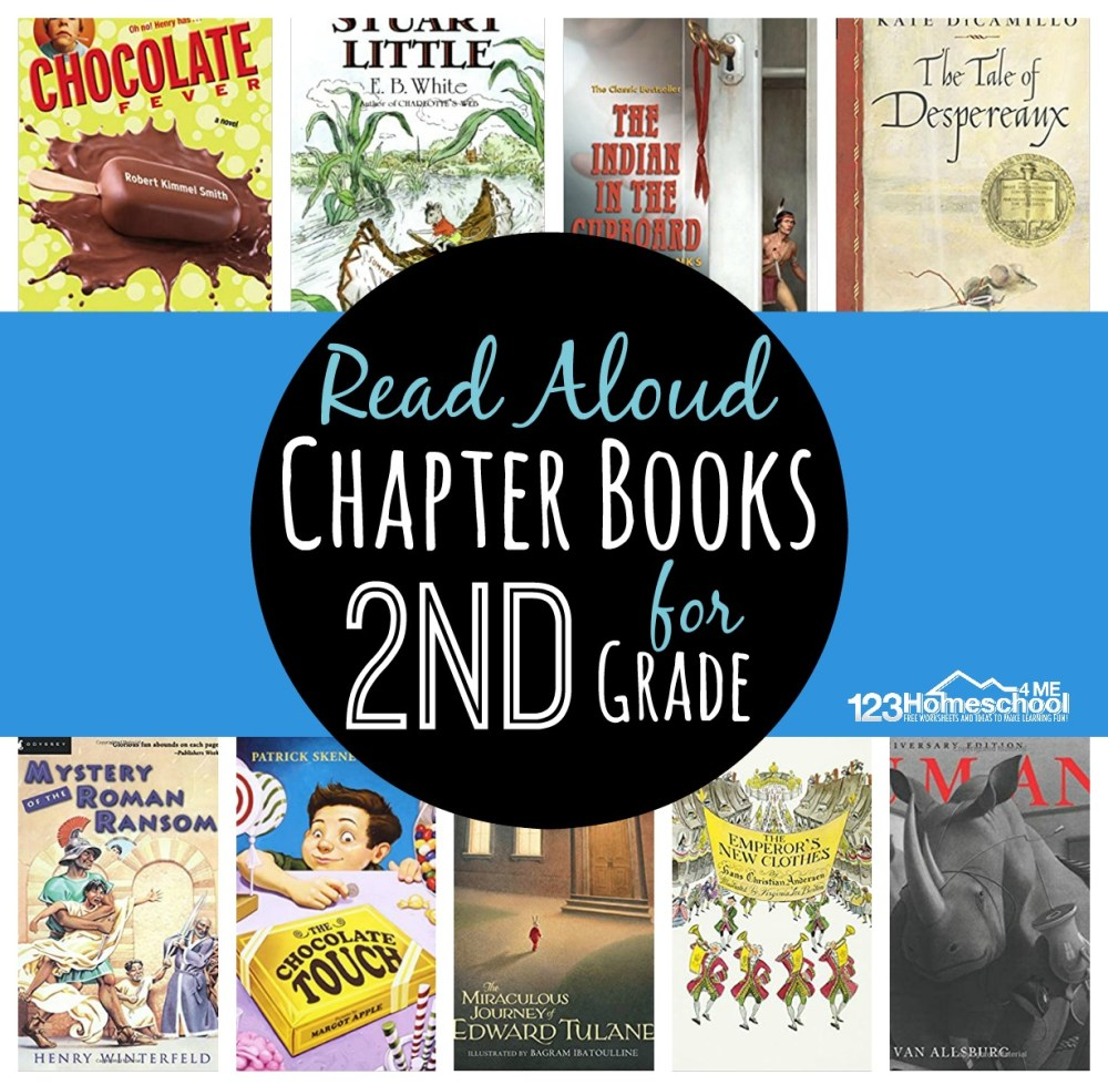 medium resolution of Read Aloud Chapter Books for 2nd Grade