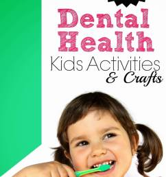Dental Health Month Teeth Crafts and Activities [ 1336 x 924 Pixel ]