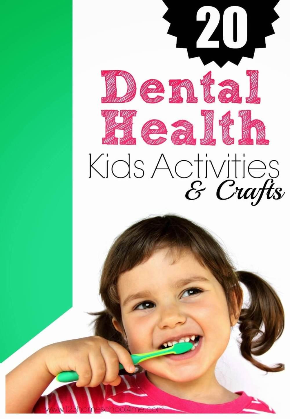 medium resolution of Dental Health Month Teeth Crafts and Activities