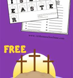 FREE Create-A-Word Easter Spelling Worksheeets Activity [ 1600 x 883 Pixel ]