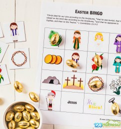 FREE Easter BINGO Printable Game [ 1024 x 1537 Pixel ]