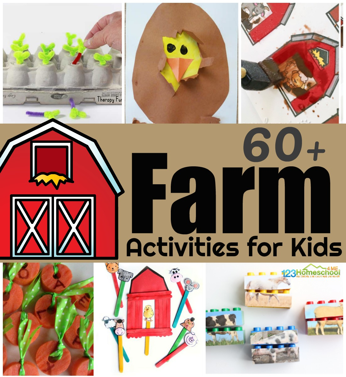 60 Fun Farm Activities For Kids
