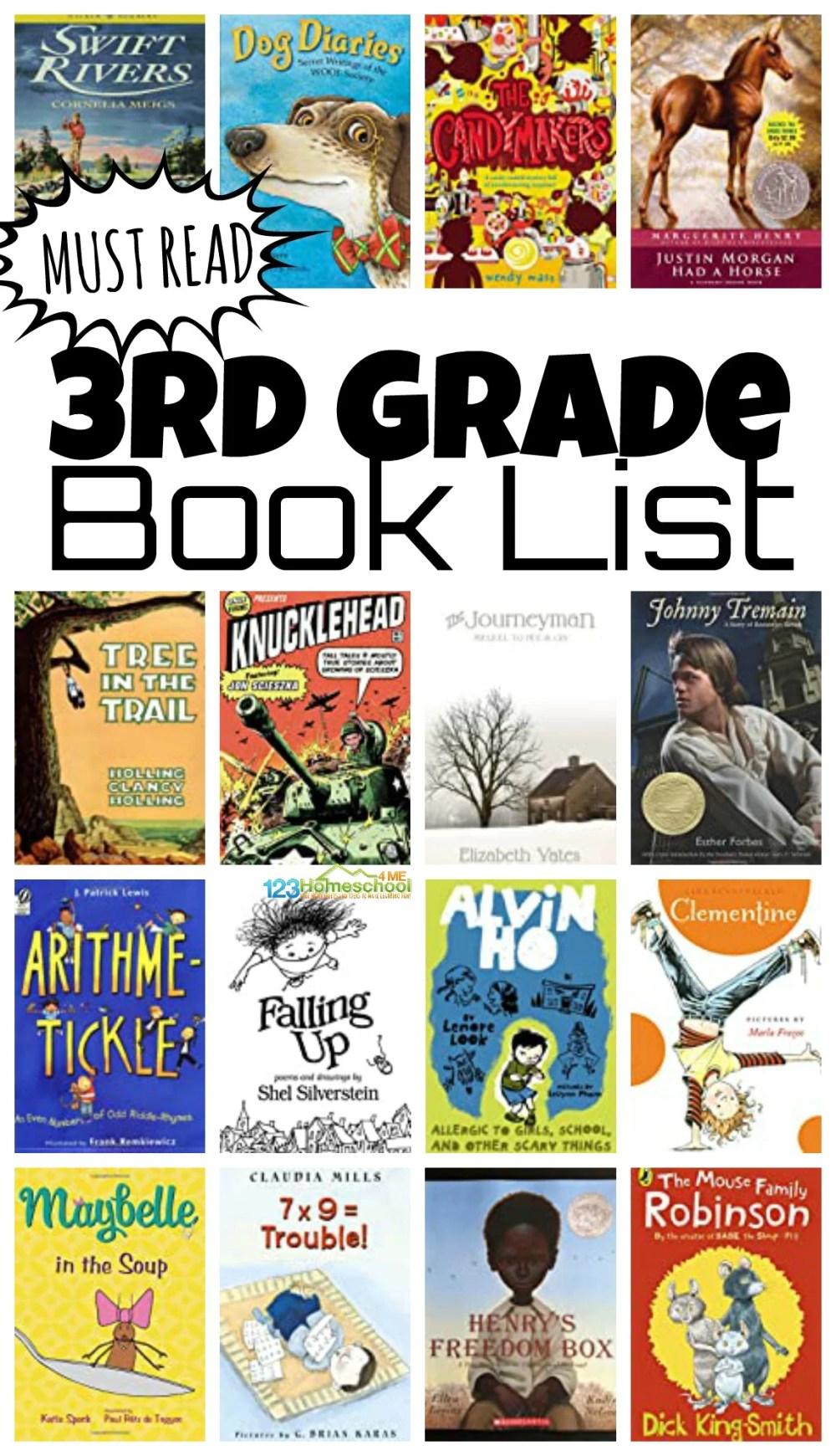 medium resolution of 3rd Grade Books