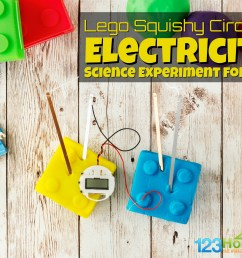 Lego Squishy Circuits Electricity Science Experiment for Kids [ 1024 x 1537 Pixel ]